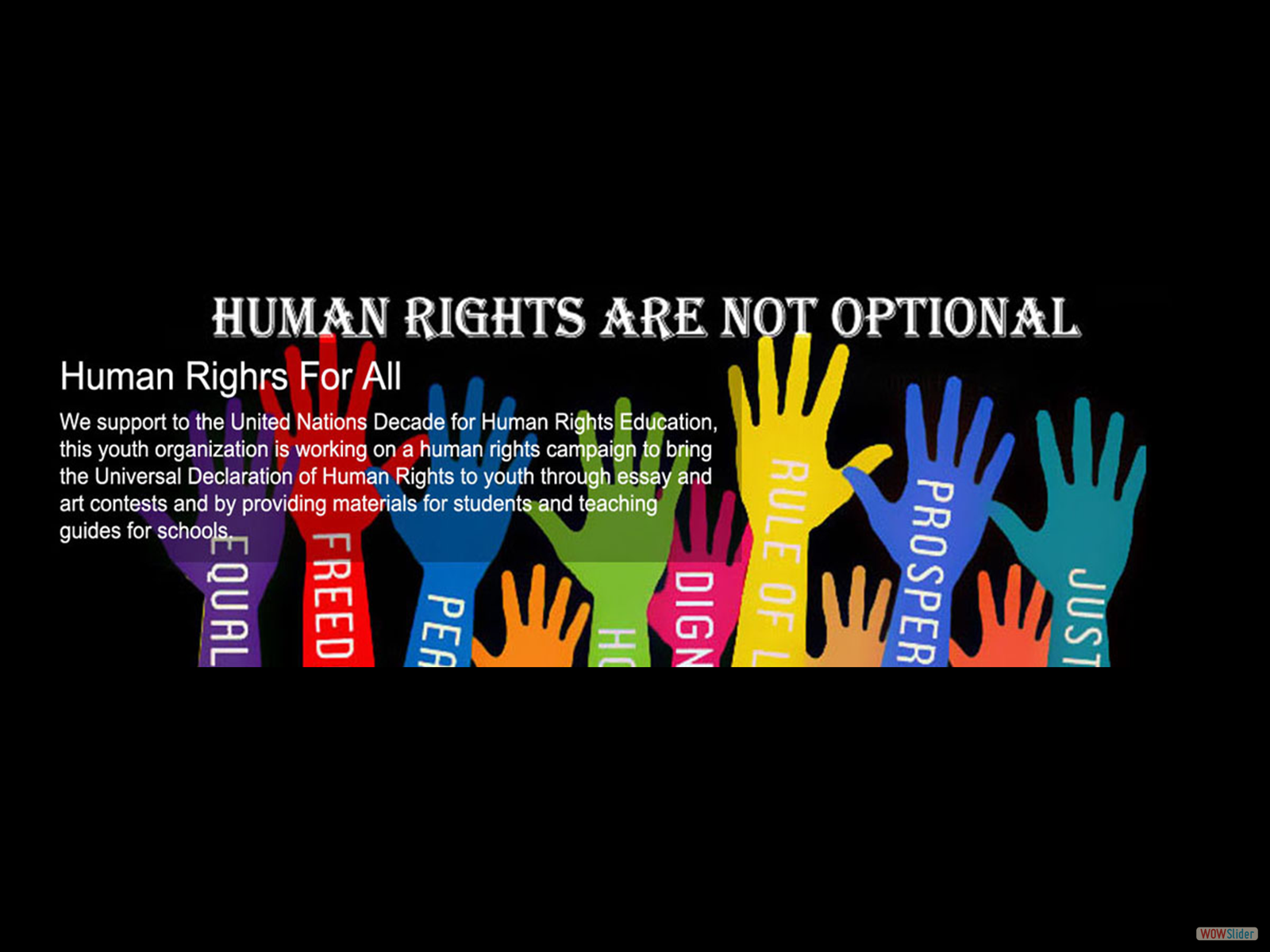 human rights essay When compared with other animals humans posses greater intelligence and creativity this had paved way to the technological and cultural advancement of humans during the process of evolution and civilization people recognized the rights of others during the primary stages of civilization rights.